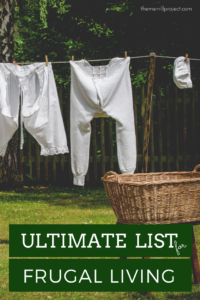 I LOVE frugal living! I complied a list of the ULTIMATE Frugal Living Websites for a quick go-to to help you out! I have found TONS of useful information