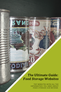 Hey guys! I have searched the web for ALL The Food Storage websites I could find for easy reference to help YOU on your food storage journey!