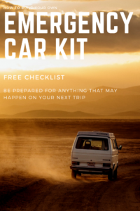 why you need an emergency car kit