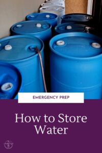 You need to store water right? But there are 2 problems. 1. You don't know how to store water. 2. You don't have enough space to store water.