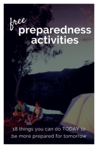 Are you tight on cash, but still looking for a way to be more prepared? IHere is a list of 8 FREE preparedness activities that you can work on and be more prepared. | emergency preparedness | free preparedness | free survival |