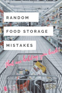 Over the years I've noticed 3 major common food storage mistakes my clients have been doing. They DON'T EVEN REALIZE IT! And they are ALL wasting your money, and space.