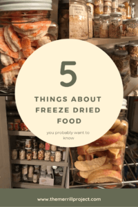 You may have heard about how amazing freeze dried food is.  That being said, as a beginner, there are a few things you need to know about freeze dried food.