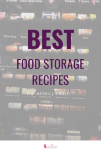 Are you having a hard time finding the BEST food storage recipes for your family?  Well, it's probably because you've been looking in the wrong place.