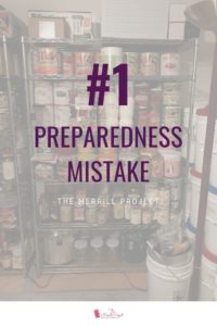 Want to know what the number 1 preparedness mistake is?  Everyone has a different opinion.  I'll give you the number 1 mistake I believe people make, but also the other top 5 mistakes I see people make.  Number 1 Preparedness Mistake is