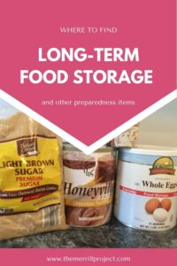 With many companies out there, with different prices and similar food it's hard to know which store is best to get food for long term storage.
