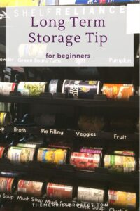 Many fear starting food storage because of the cost and overwhelm. But this long term food storage tip has nothing to do with spending money.