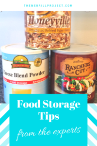 Find out the number one food storage tip from the experts who have been storing food for years. Read this to start building your food supply.